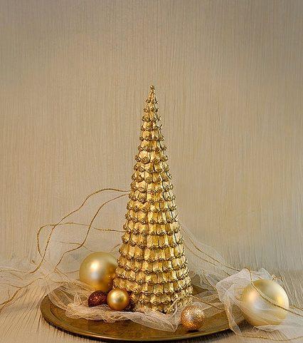 Árvore de Natal com as mãos para o ano novo e # 8212; Ideias fotográficas e mestres estágio de classes 39