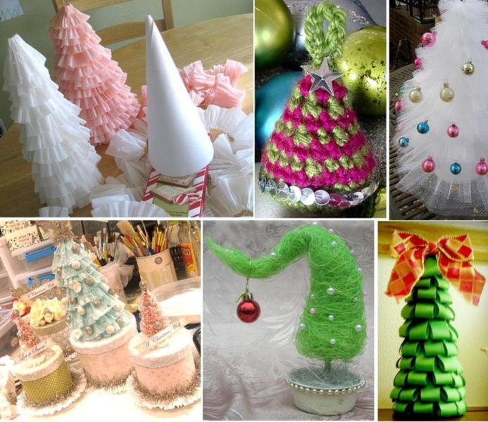 Жаңа жылдық шыршасы бар жаңа ағаш & # 8212; Фото идеялар және шеберлік сабақтары 1-кезең
