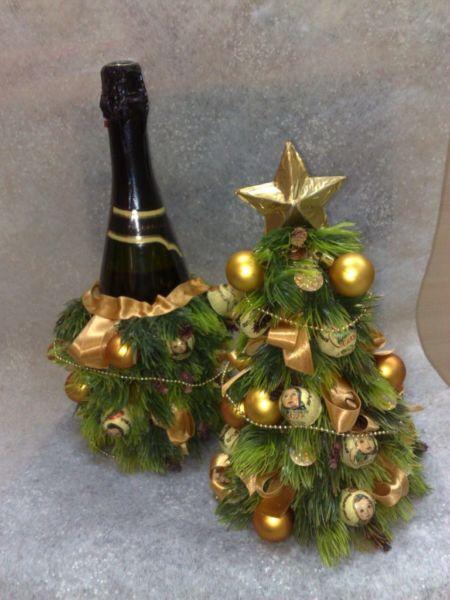 Χριστουγεννιάτικο δέντρο με τα χέρια σας για το Νέο Έτος & # 8212; Ιδέες φωτογραφιών και Master Classes Στάδιο 73