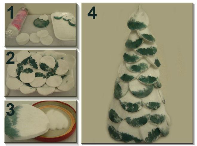 Tělor strom z papíru & # 8212; Schémata a šablony k vytvoření vánočního stromu s vlastními rukama 98