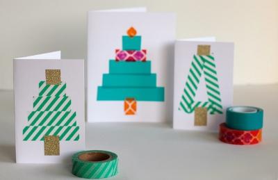 Жаңа жылдық карталар жасаңыз Балалар үшін өзіңіз жасаңыз: Жаңа жылдағы мастер-кластар және ашықхаттар шаблондары 2021 55 кезең