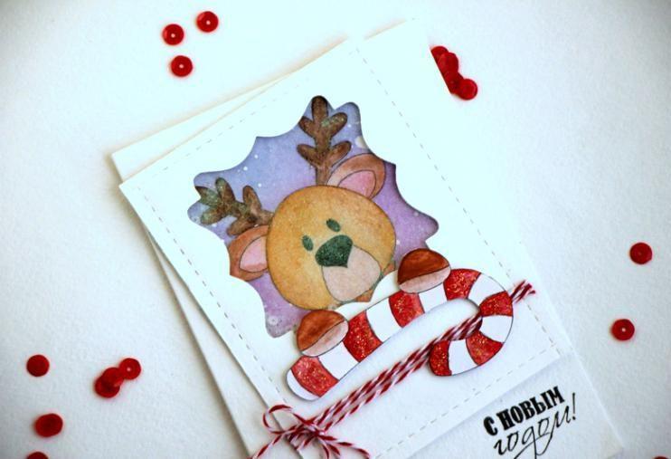 کارت پستال های سال نو آن را برای کودکان انجام می دهند: کلاس های کارشناسی ارشد و قالب های کارت پستال برای سال جدید 2021 مرحله 143