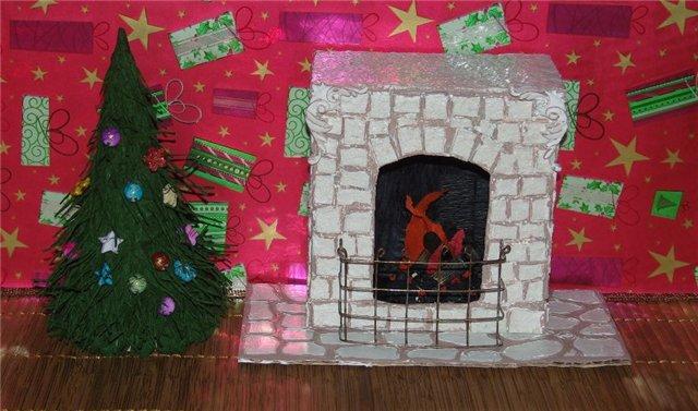 Tělor strom z papíru & # 8212; Schémata a šablony pro vytvoření vánočního stromu s vlastními fází rukou 57