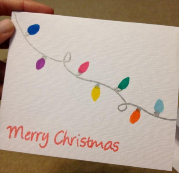 Жаңа жылдық карталар оны балаларға арналған: Жаңа жылдағы мастер-кластар және ашықхаттар шаблондары 132 кезеңі