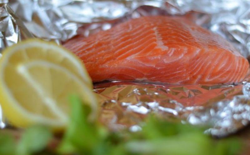 Salmon sốt muối thấp & # 8212; 7 Giải công thức nấu ăn cá hồi tại sân khấu Giai đoạn 23
