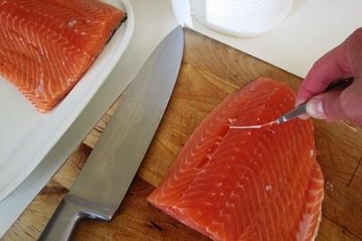 Salmon sốt muối thấp & # 8212; 7 Giải công thức nấu ăn cá hồi tại sân khấu 3