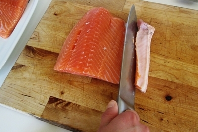 Salmon sốt muối thấp & # 8212; 7 Giải công thức nấu ăn cá hồi tại sân khấu Giai đoạn 2