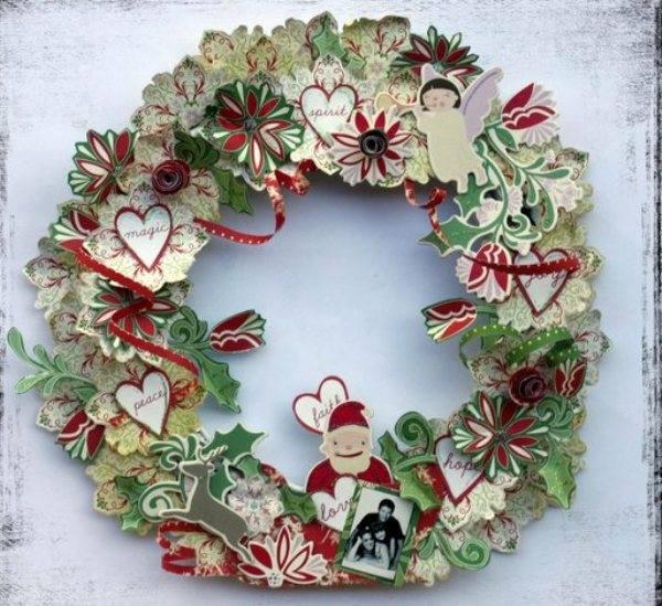 Жаңа жылдық гүл шоқтарын өзіңіз жасайды. Үйде гүл шоқтарын өндіруге арналған 12 шеберлік сабағы 52