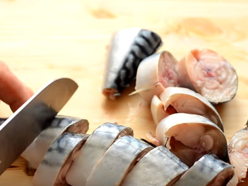 Mackerel ướp ở nhà: 7 công thức nấu ăn ngon Giai đoạn 6