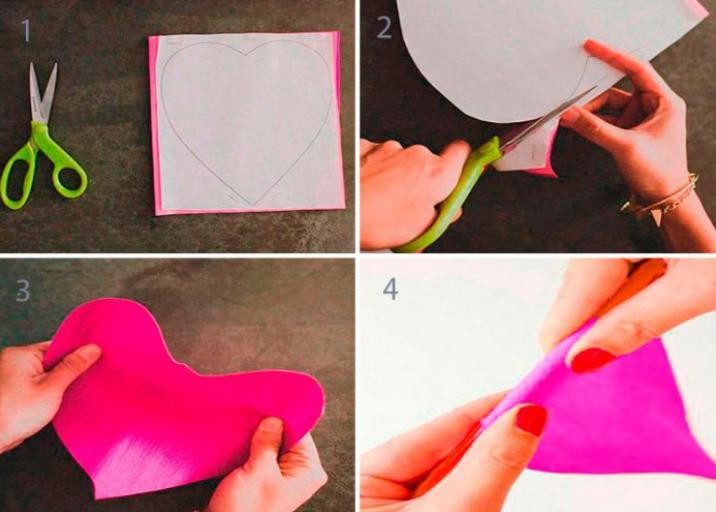 Paper Flowers & # 8212; Mga scheme at mga template para sa paglikha ng mga kulay ng papel na yugto 135.