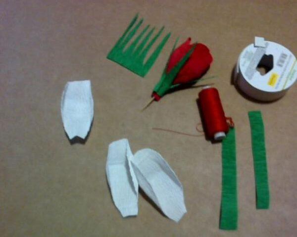 Paper Flowers & # 8212; Mga scheme at mga template para sa paglikha ng mga kulay ng papel 163.
