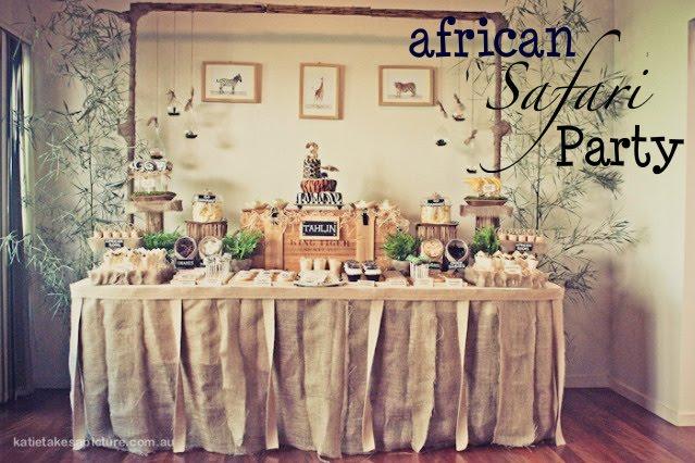 Kara S Party Ideas African Safari Jungle Birthday Party