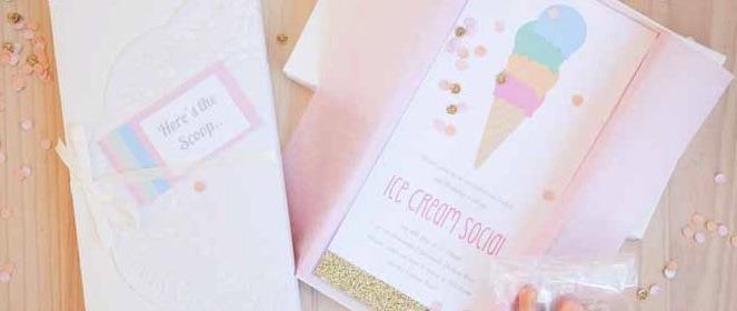 Kara S Party Ideas Pastel Ice Cream Social Birthday Via