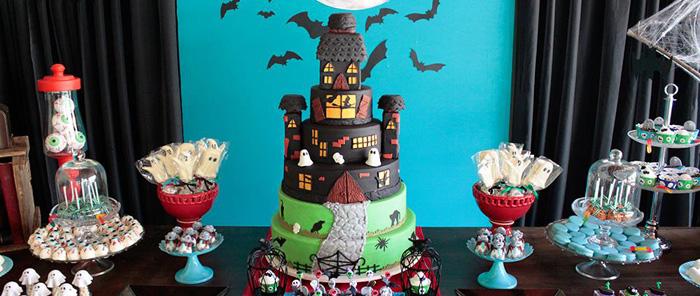 Kara S Party Ideas Haunted House Birthday Party