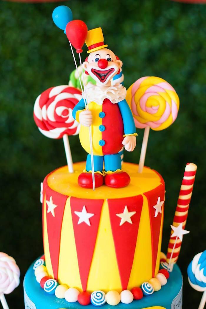 Kara S Party Ideas 187 Circus Carnival Birthday Party Via