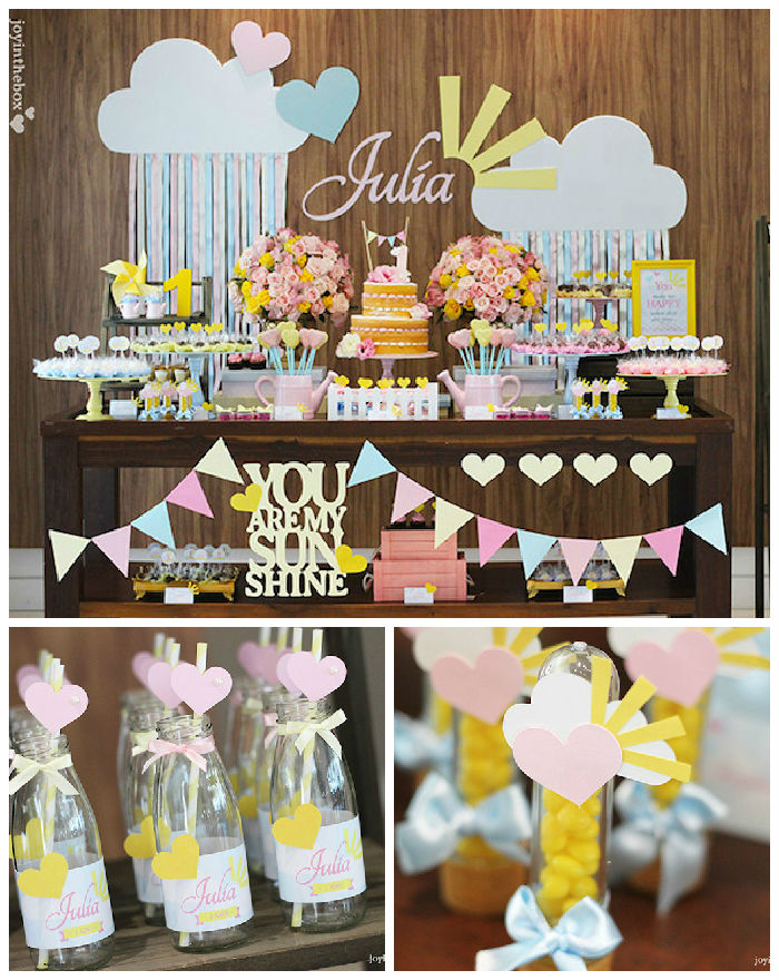 You Are My Sunshine Baby Shower Theme