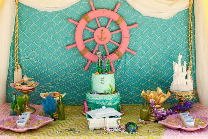 Fall Themed Birthday Cake Idea