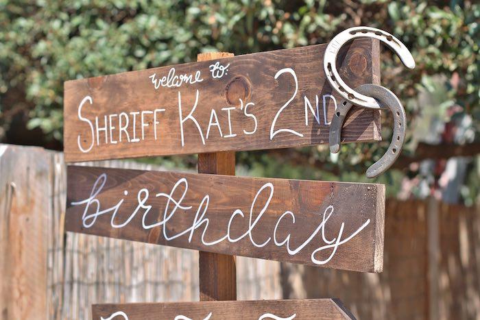 Kara S Party Ideas Western Cowboy Birthday Party Kara S