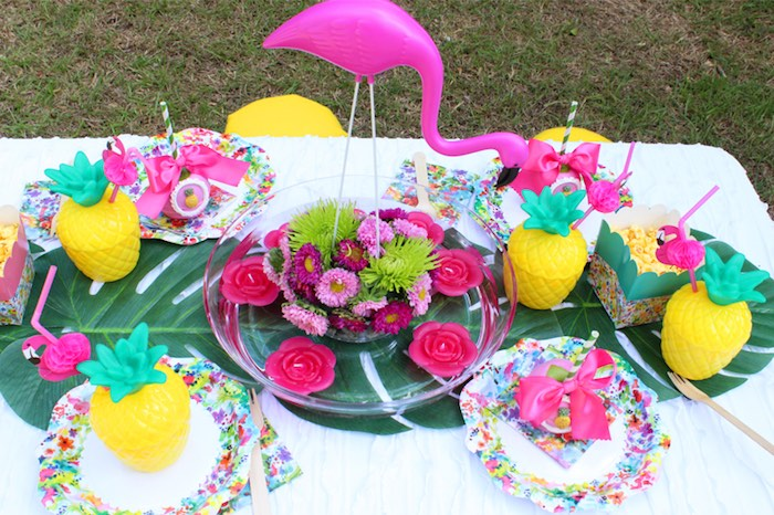 Pink Cake Pops Centerpieces