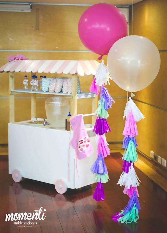 Kara S Party Ideas Bakery Cooking Themed Birthday Party