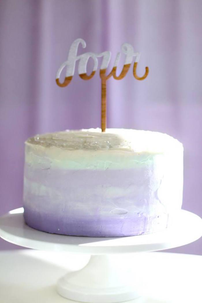 Kara S Party Ideas Popcorn Amp Pajamas Purple Movie Night