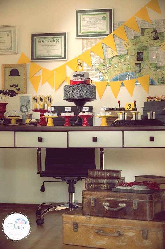 Kara S Party Ideas Detective Mystery Birthday Party