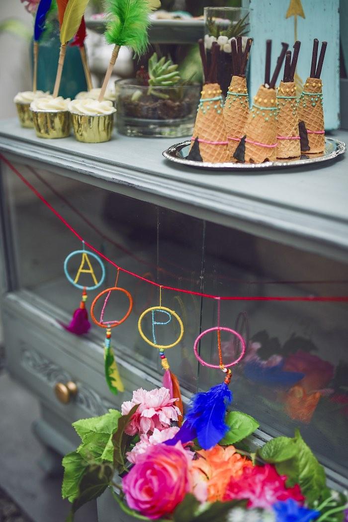 Kara S Party Ideas Boho Tribal Birthday Party Kara S