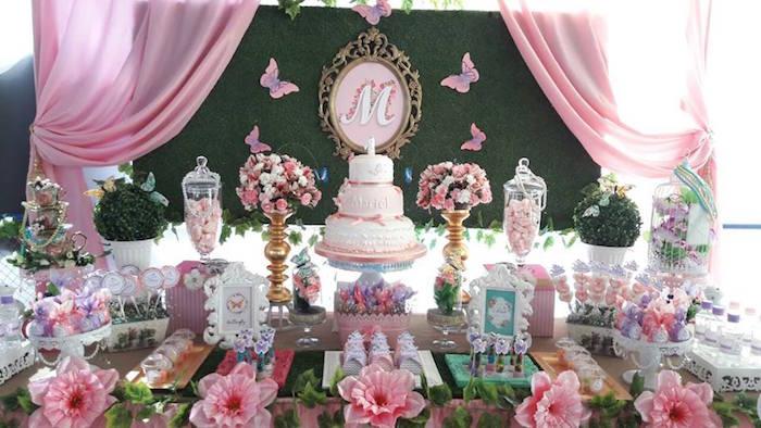 Kara S Party Ideas Beautiful Butterfly Birthday Party