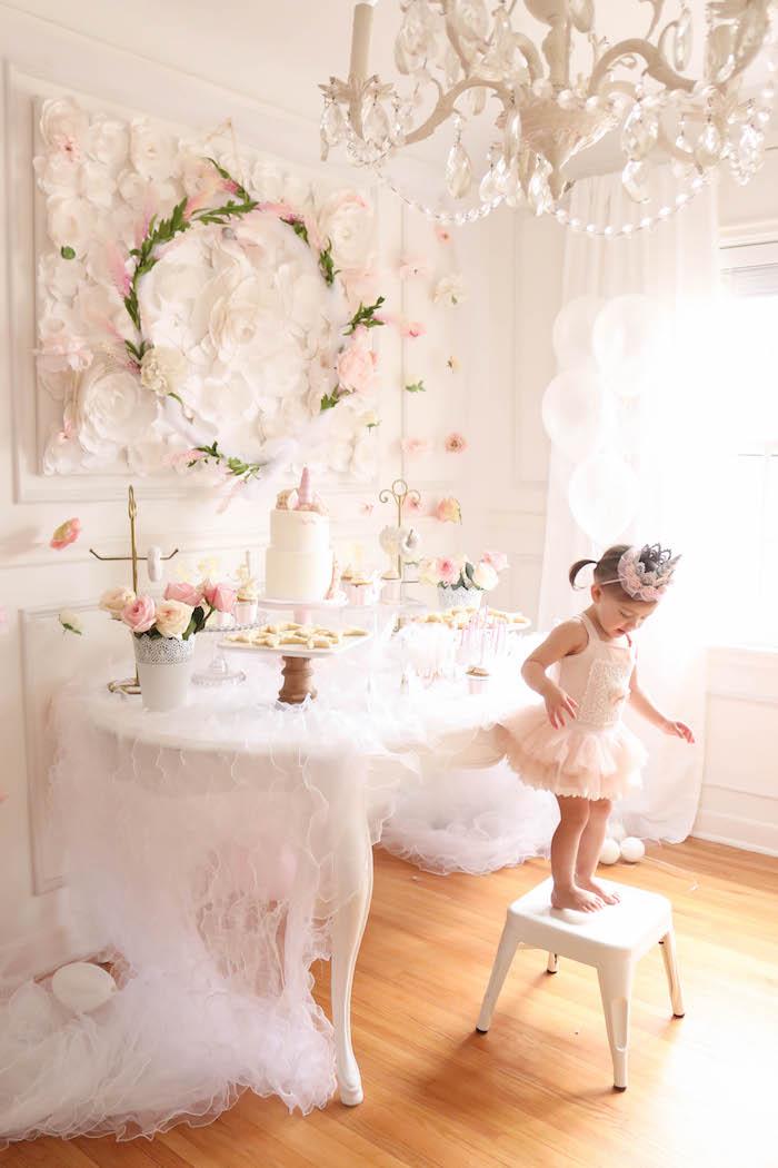 Kara S Party Ideas Floral Unicorn Birthday Party Kara S