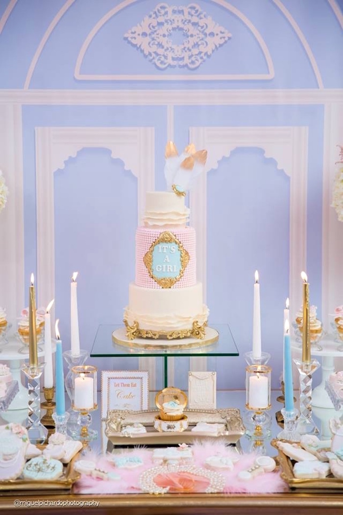 Kara S Party Ideas Marie Antoinette Baby Shower Kara S