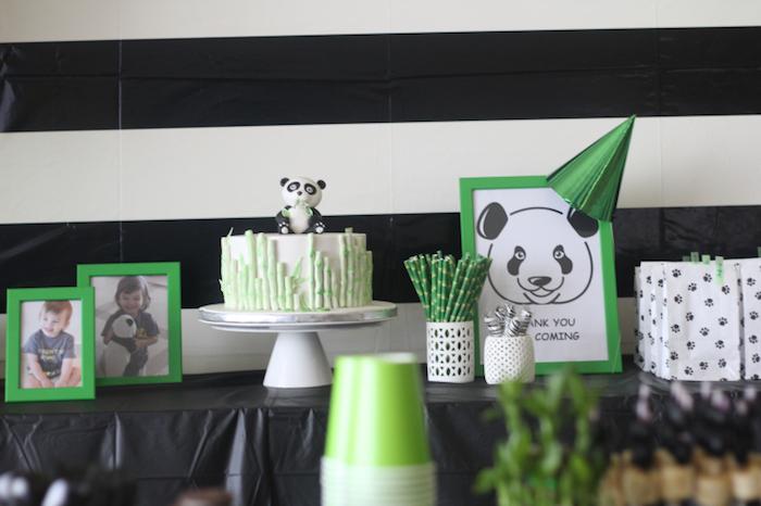 Kara S Party Ideas Bamboo Panda Birthday Party Kara S