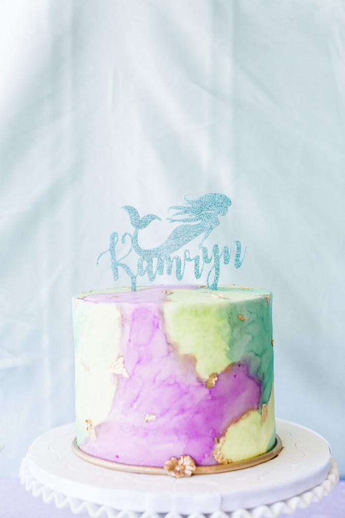 Kara S Party Ideas Shimmering Mermaid Birthday Party