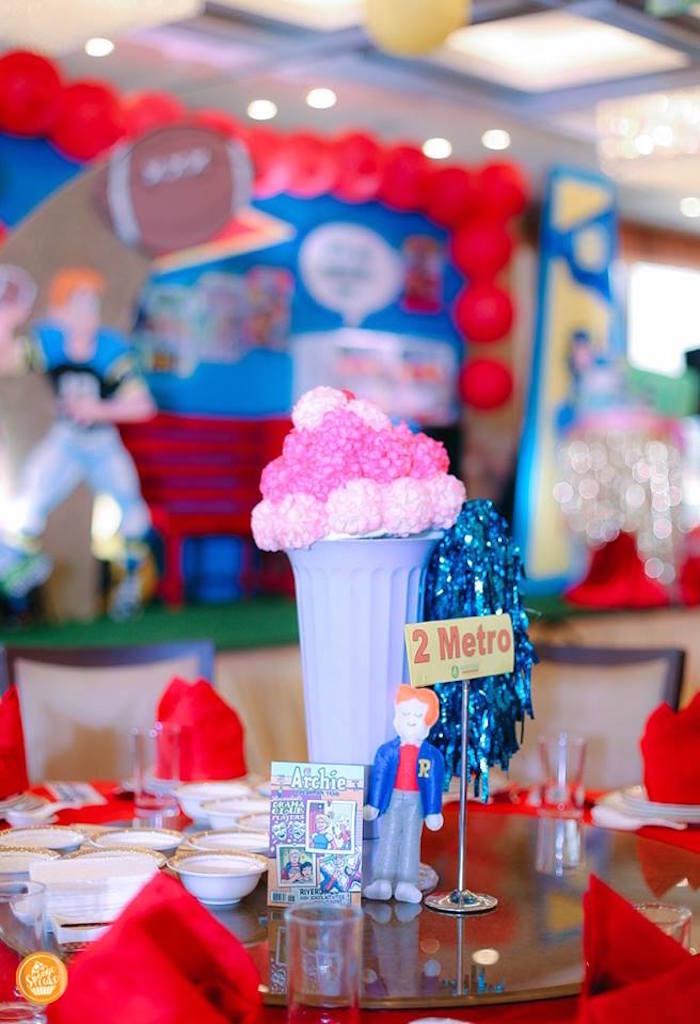 Kara S Party Ideas Riverdale High Comic Themed Birthday
