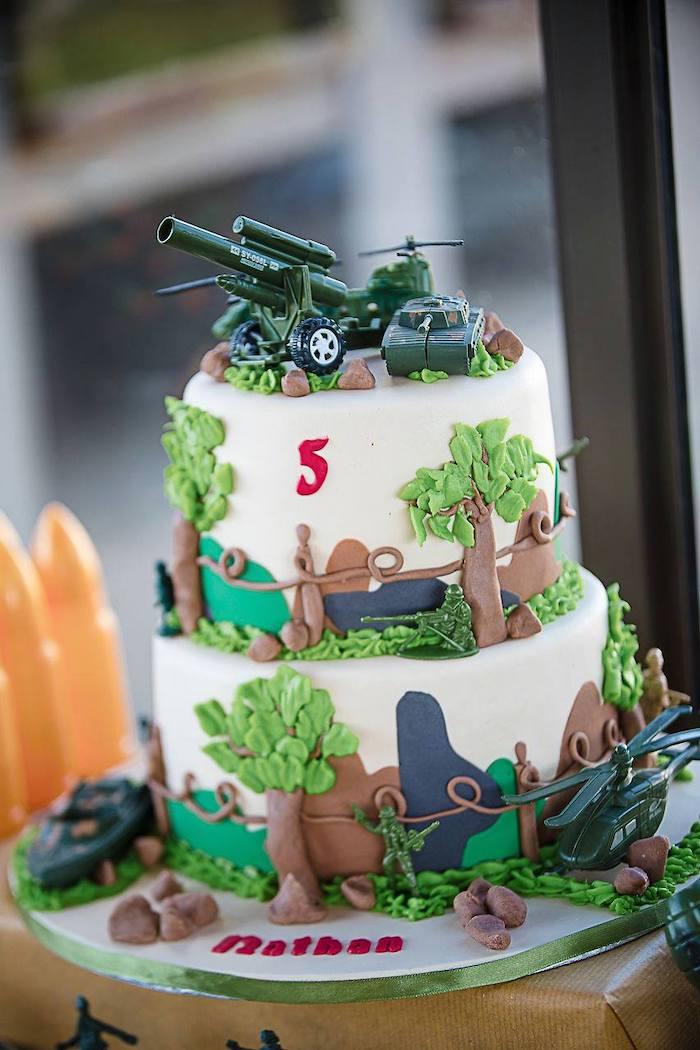 Kara S Party Ideas Army Military Birthday Party Kara S