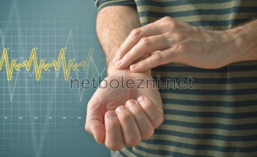 Συχνότητα του καρδιακού παλμού με γρήγορο παλμό