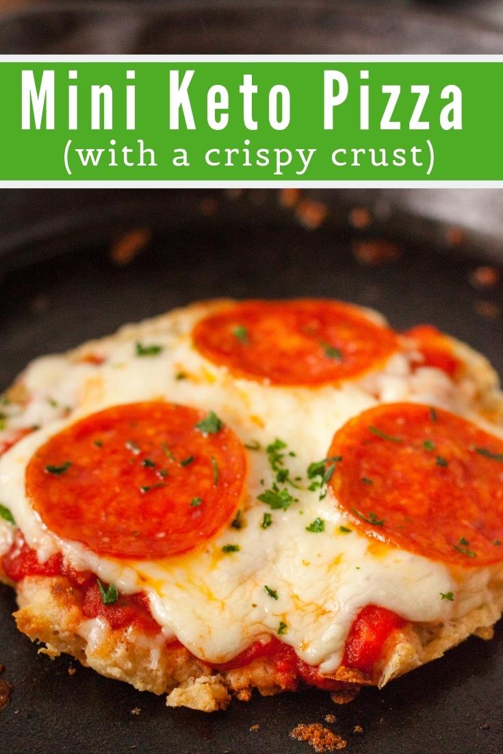 Easy Mini Keto Pizza Recipe With A Crispy Crust Kasey Trenum