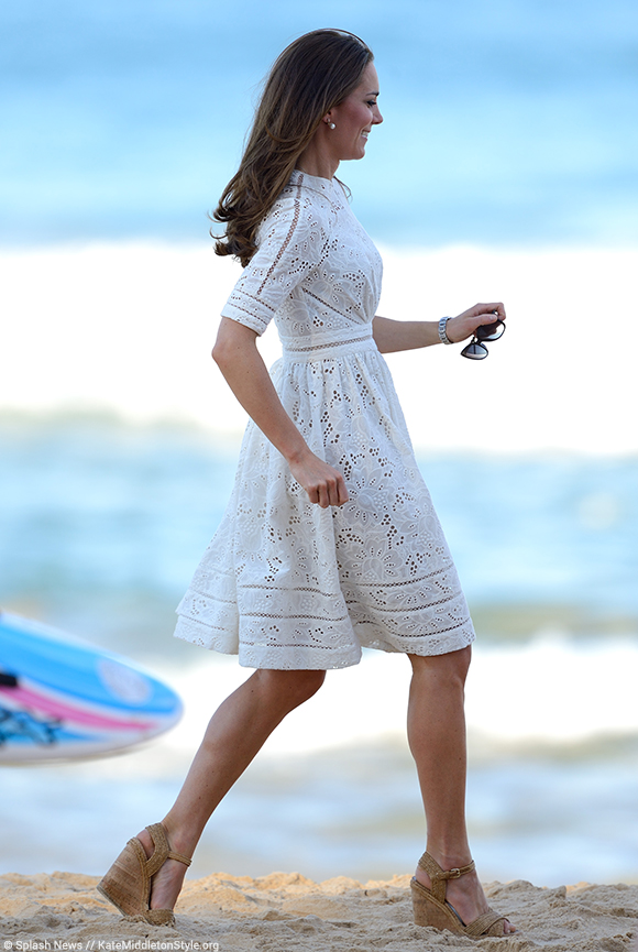 Kate Middleton Shoes Stuart Weitzman Wedge