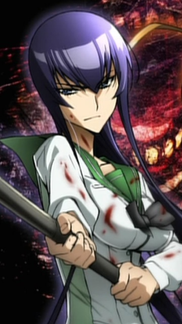 Dead Busujima Saeko High School