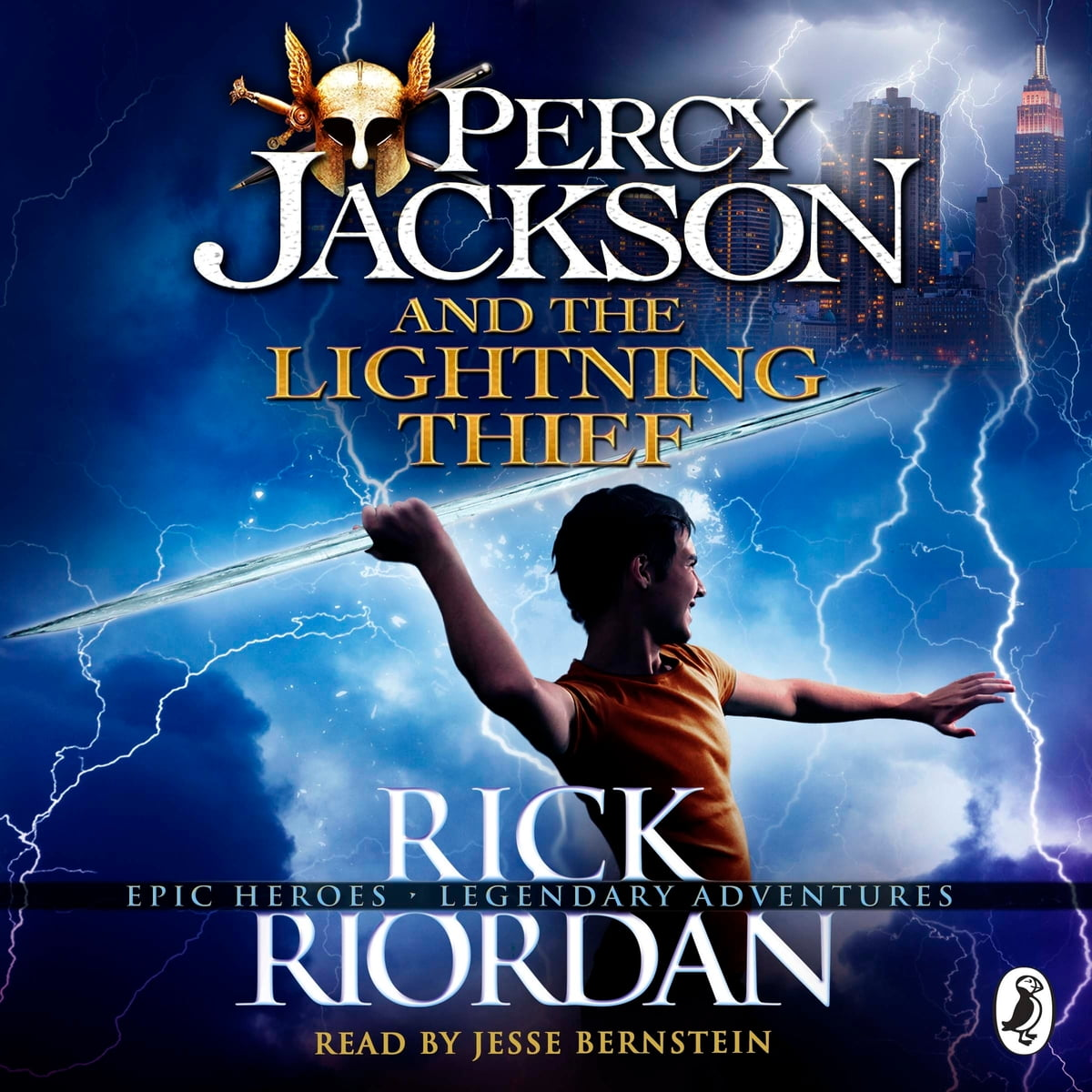 Percy Jackson and the Lightning Thief (Book 1) Audiobook ...