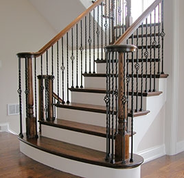 House Of Forgings Stair Parts Kansas City Millwork   House Of Forgings Balusters   Wentworth   Hand Forged   Custom   Versatile Series   Marquise