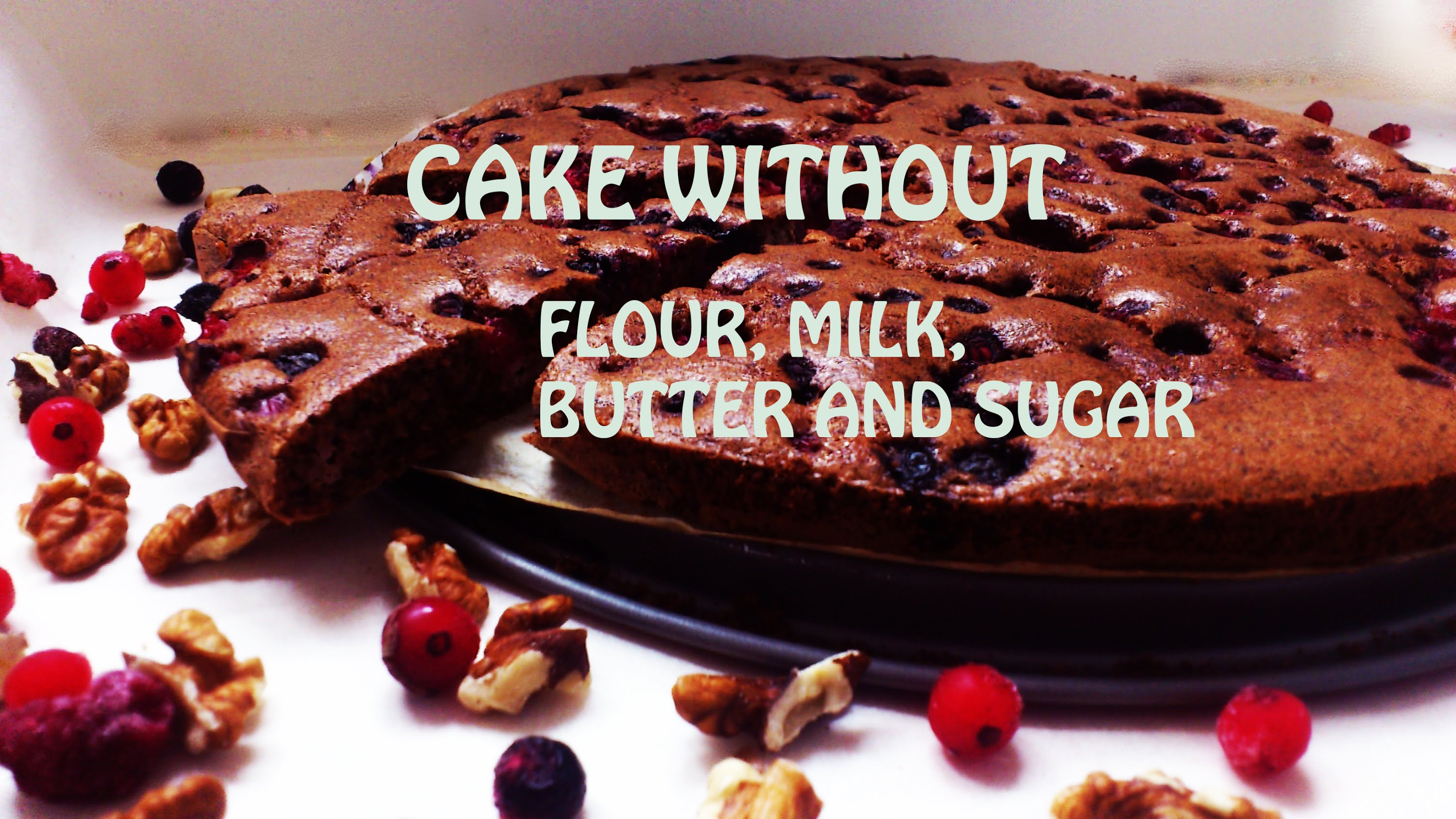 Healthy Apple Cake Without Sugar