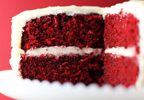 Red Cake Vanilla Recipe Velvet