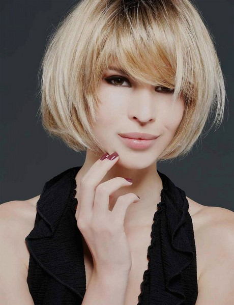 Carre Degrade Coupe Cheveux Effile Et