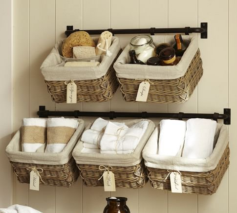 Clever Ways To Use Baskets As Home D    cor