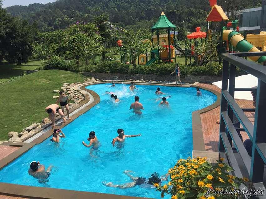 4 Villa Tam Đảo giá tốt, không gian nghỉ dưỡng đẹp ở Vĩnh Phúc