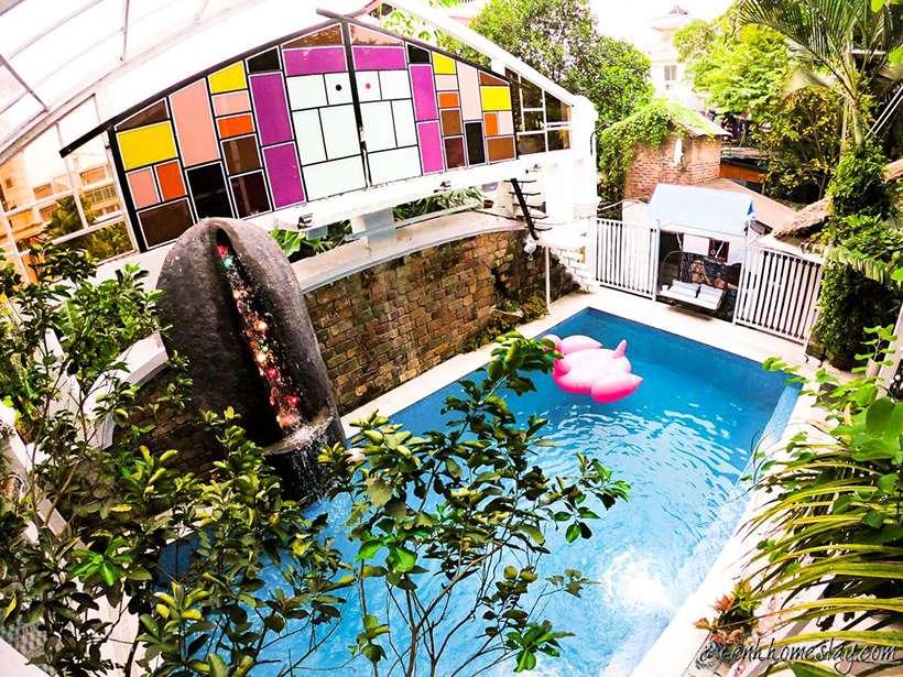 10 homestay ngoại thành Hà Nội có bể bơi, có bể bơi cho khách du lịch vi vu cuối tuần