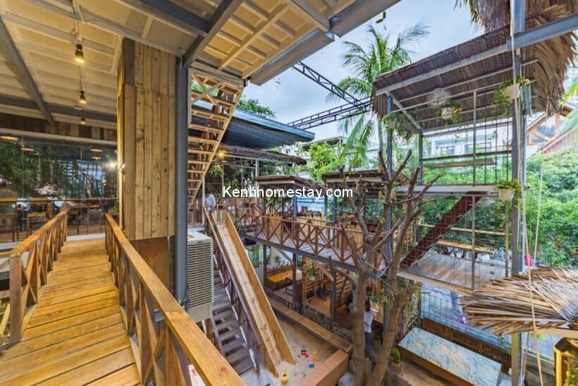 Rainforest Coffee: Khu rừng nhiệt đới xanh giữa lòng Nha Trang