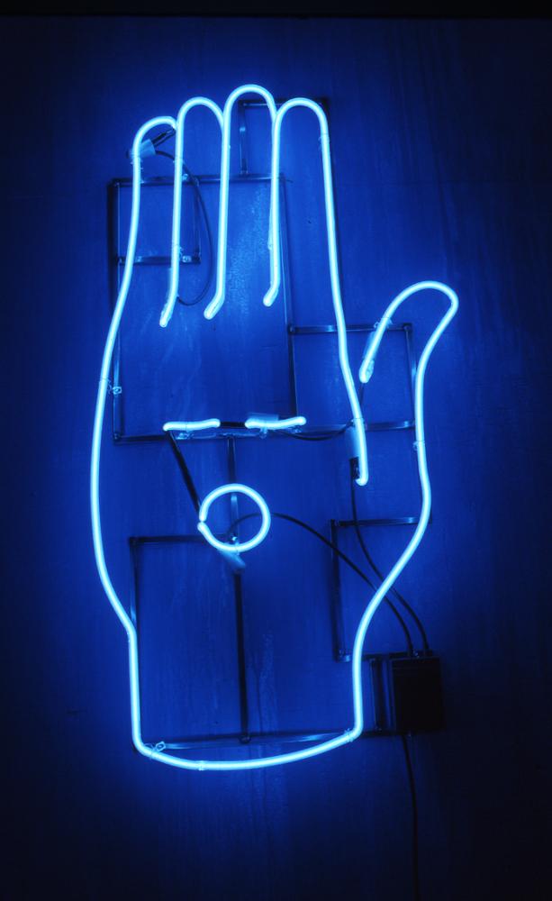 Neon Art Installation