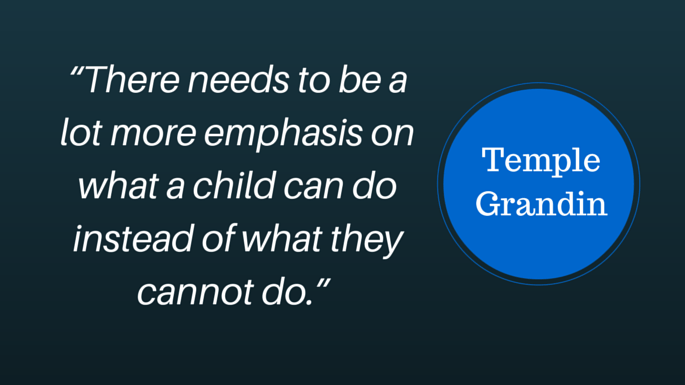 Temple Grandin Quotes Different Not Less