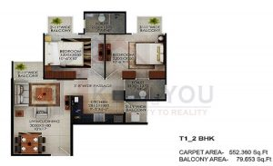 Ninex Affordable Gurgaon Floor Plan